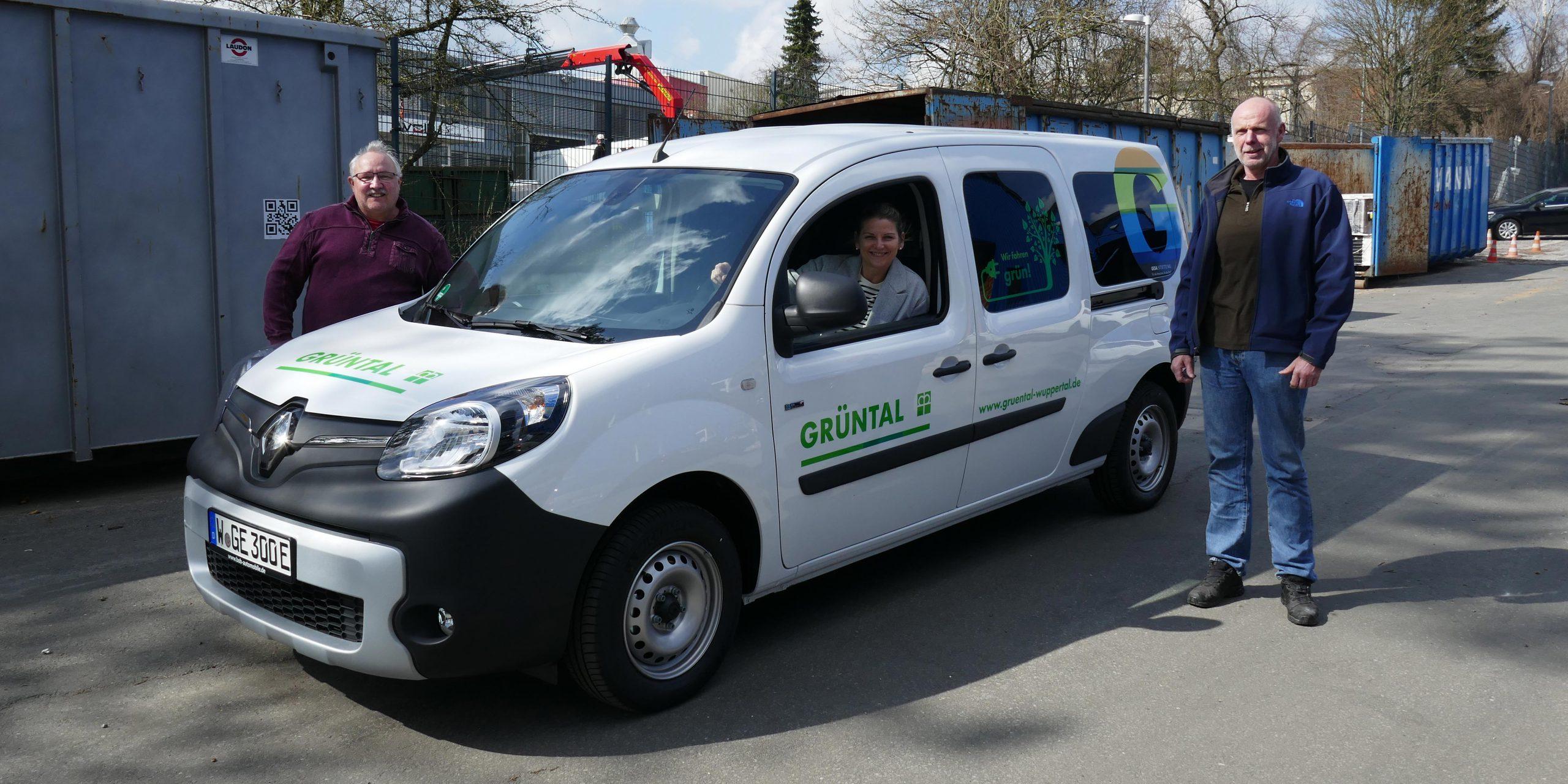 Neues Elektroauto der Grüntal